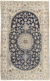 Nain Rug 185X310 Authentic  Oriental Handknotted Dark Grey/Light Brown/Beige (Wool, Persia/Iran)