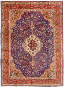 タブリーズ 絨毯 305X410 オリエンタル 手織り 深紅色の/錆色 大きな (ウール, ペルシャ/イラン)