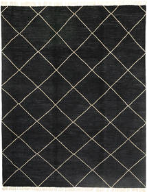 Barchi/Moroccan Berber - Pakistan Rug 240X308 Authentic  Modern Handknotted Black (Wool, Pakistan)