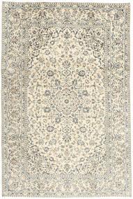 Keshan Matta 194X293 Äkta Orientalisk Handknuten Beige/Mörkbeige (Ull, Persien/Iran)