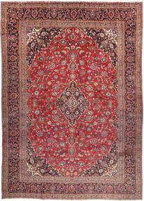 Keshan Matto 290X406 Itämainen Käsinsolmittu Tummanruskea/Tummanpunainen Isot (Villa, Persia/Iran)