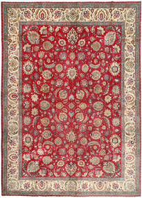 Tabriz Rug 300X410 Authentic  Oriental Handknotted Dark Brown/Light Brown Large (Wool, Persia/Iran)