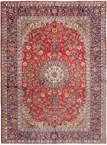 Najafabad Matto 290X395 Itämainen Käsinsolmittu Vaaleanharmaa/Ruoste Isot (Villa, Persia/Iran)