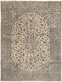Mashad Rug 292X388 Authentic Oriental Handknotted Light Grey/Dark Grey Large (Wool, Persia/Iran)