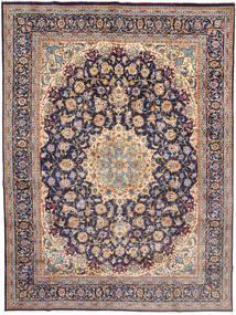 Najafabad Matta 295X398 Äkta Orientalisk Handknuten Ljusgrå/Mörklila Stor (Ull, Persien/Iran)