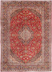 Najafabad Koberec 270X380 Orientální Ručně Tkaný Tmavě Červená/Hnědá Velký (Vlna, Persie/Írán)