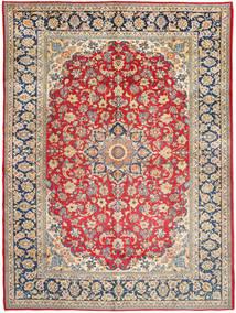 Najafabad Matto 299X406 Itämainen Käsinsolmittu Ruoste/Vaaleanharmaa Isot (Villa, Persia/Iran)