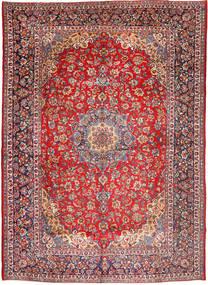 Najafabad Matto 297X428 Itämainen Käsinsolmittu Ruoste/Tummanpunainen Isot (Villa, Persia/Iran)