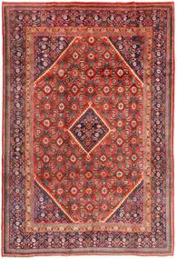 Mahal Teppich 205X305 Echter Orientalischer Handgeknüpfter Braun/Dunkellila (Wolle, Persien/Iran)
