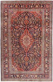 Keshan Matto 210X330 Itämainen Käsinsolmittu Ruskea/Tummanvioletti (Villa, Persia/Iran)