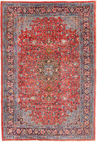Mahal Rug 207X310 Authentic  Oriental Handknotted Purple/Rust Red (Wool, Persia/Iran)
