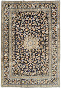 Keshan Rug 240X350 Authentic  Oriental Handknotted Light Brown/Dark Grey (Wool, Persia/Iran)