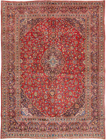 Mashad Rug 285X385 Authentic  Oriental Handknotted Dark Red/Brown Large (Wool, Persia/Iran)