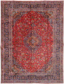 Mashad Rug 300X400 Authentic  Oriental Handknotted Dark Red/Light Purple Large (Wool, Persia/Iran)