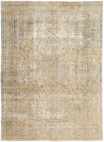 Colored Vintage Rug 286X390 Authentic  Modern Handknotted Light Grey/Beige Large (Wool, Persia/Iran)
