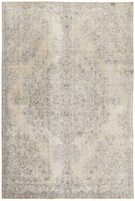 Colored Vintage Rug 218X334 Authentic  Modern Handknotted Light Grey (Wool, Persia/Iran)