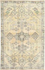 Colored Vintage Teppich  128X203 Echter Moderner Handgeknüpfter Beige/Dunkel Beige/Hellgrau (Wolle, Persien/Iran)