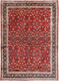 Mashad Rug 285X390 Authentic  Oriental Handknotted Brown/Dark Red Large (Wool, Persia/Iran)