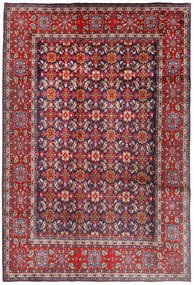 Mahal Rug 198X294 Authentic  Oriental Handknotted Dark Red/Dark Purple (Wool, Persia/Iran)