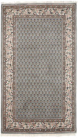 Mir Indisk Matta 94X163 Äkta Orientalisk Handknuten Mörkgrå/Ljusgrå (Ull, Indien)
