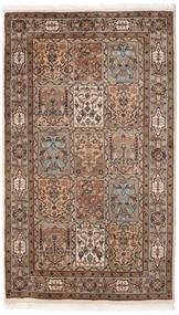 Bakhtiar Indo Matto 92X165 Itämainen Käsinsolmittu Ruskea/Vaaleanruskea (Villa, Intia)