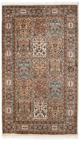 Bakhtiar Indické Koberec 93X158 Orientální Ručně Tkaný Hnědá/Světle Hnědá (Vlna, Indie)