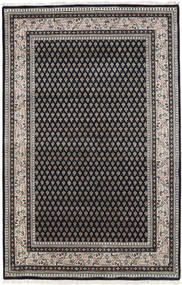Mir Indo Rug 123X183 Authentic  Oriental Handknotted Black/Light Brown (Wool, India)