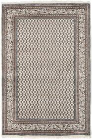 Mir Indisch Teppich  150X204 Echter Orientalischer Handgeknüpfter Hellgrau/Dunkelgrau (Wolle, Indien)
