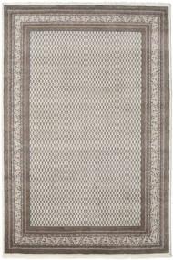 Mir Indo Rug 205X303 Authentic  Oriental Handknotted Light Grey/Dark Grey (Wool, India)