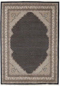 Mir Indo Rug 174X243 Authentic  Oriental Handknotted Light Brown/Black (Wool, India)