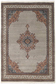 Mir Indo Rug 197X284 Authentic  Oriental Handknotted Light Brown/Dark Brown (Wool, India)