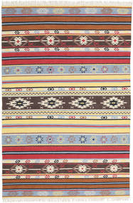 Kilim - Navaja - Navaja Rug 200X300 Authentic  Modern Handwoven Beige/Dark Brown (Wool, India)