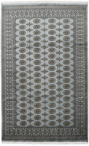 Pakistan Bokhara 2Ply Rug 198X315 Authentic  Oriental Handknotted Dark Grey/Light Grey (Wool, Pakistan)