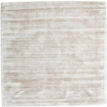 Tribeca - Warm Beige Rug 250X250 Modern Square Light Grey Large ( India)