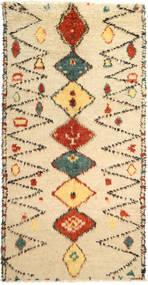 Barchi/Moroccan Berber - Pakistan Rug 181X361 Authentic  Modern Handknotted Hallway Runner  Beige/Dark Beige (Wool, Pakistan)