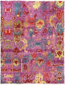 Barchi/Moroccan Berber - Pakistan Alfombra 240X306 Moderna Hecha A Mano Rosa/Violeta (Lana, Pakistán)