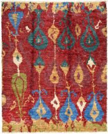 Barchi/Moroccan Berber - Pakistan Tappeto 243X292 Moderno Fatto A Mano Rosso Scuro (Lana, Pakistan)