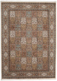 Bakhtiari Indo Rug 251X350 Authentic  Oriental Handknotted Brown/Light Brown Large (Wool, India)