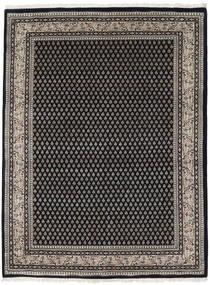 Mir インド 絨毯 253X305 オリエンタル 手織り 黒/濃いグレー 大きな (ウール, インド)