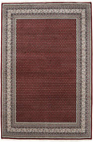 Mir Indo Rug 253X355 Authentic  Oriental Handknotted Dark Red/Light Grey Large (Wool, India)