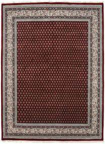 Mir Indisk Teppe 248X304 Ekte Orientalsk Håndknyttet Mørk Rød/Mørk Brun (Ull, India)