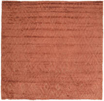 Soho Soft - Terracotta Tapis 250X250 Moderne Carré Marron Clair/Rouille/Rouge Grand (Laine, Inde)