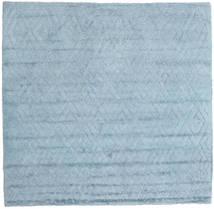 Soho Soft - Sky Blå Matta 250X250 Modern Kvadratisk Ljusblå Stor (Ull, Indien)