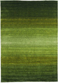 Gabbeh Rainbow - Green Rug 300X400 Modern Dark Green/Olive Green Large (Wool, India)