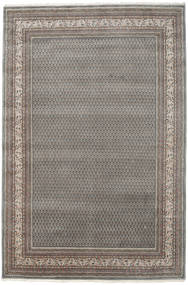 Mir Indo Rug 198X305 Authentic  Oriental Handknotted Light Grey/Dark Grey (Wool, India)