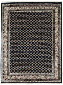 Mir Indo Rug 205X251 Authentic  Oriental Handknotted Black/Light Grey/Dark Grey (Wool, India)