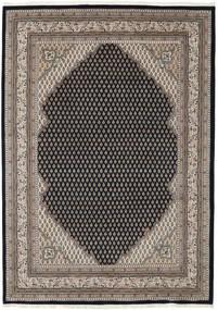 Mir Indo Alfombra 250X355 Oriental Hecha A Mano Marrón Claro/Negro Grande (Lana, India)