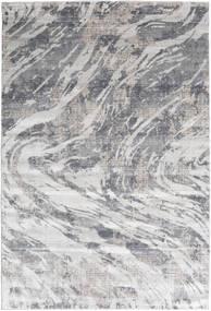 Storm - Grau Teppich  200X290 Moderner Hellgrau/Beige ( Türkei)
