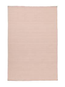 Kilim Loom - Mglisty Róż Dywan 160X230 Nowoczesny Tkany Ręcznie Jasnoróżowy (Wełna, Indie)