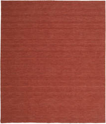 Kilim Loom - Rust Rug 250X300 Authentic  Modern Handwoven Dark Red Large (Wool, India)